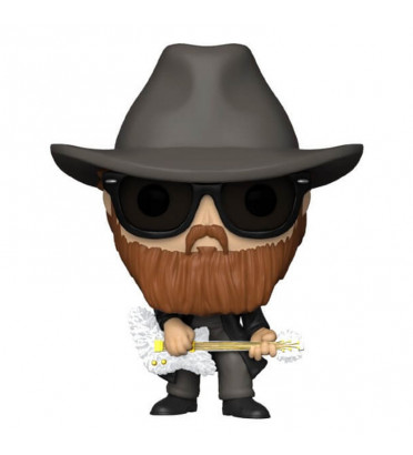 BILLY GIBBONS / ZZ TOP / FIGURINE FUNKO POP / FLOCKED