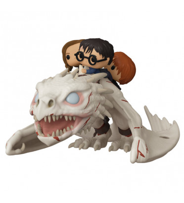 HARRY,HERMIONE,RON RIDDING GRINGOTTS / HARRY POTTER / FIGURINE FUNKO POP