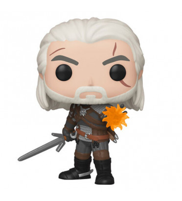 GERALT IGNI / THE WITCHER / FIGURINE FUNKO POP / EXCLUSIVE SPECIAL EDITION