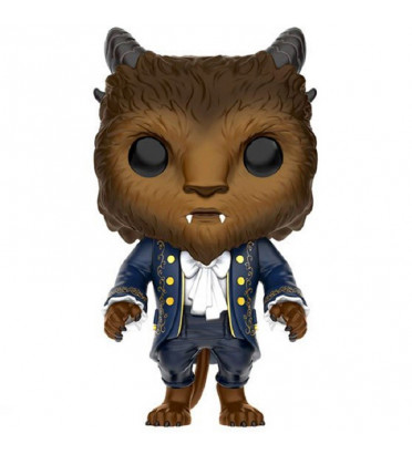 LA BÊTE / LA BELLE ET LA BÊTE / FIGURINE FUNKO POP / EXCLUSIVE FLOCKED