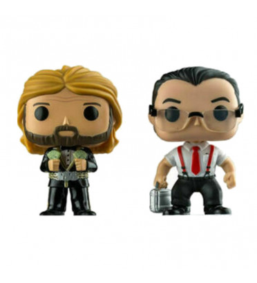 2 PACK MILLON DOLLAR MAN TED DIBIASE ET IRS / WWE / FIGURINE FUNKO POP / EXCLUSIVE