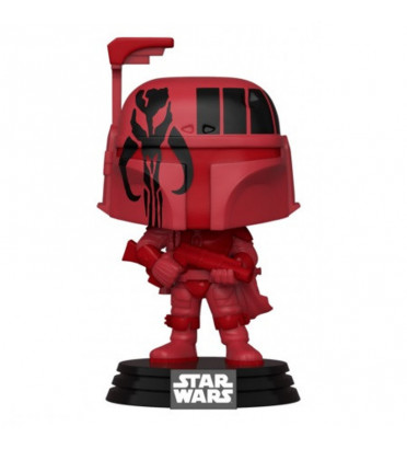 BOBA FETT BURG AVEC POP PROTECTOR FUNKO / STAR WARS / FIGURINE FUNKO POP / EXCLUSIVE WONDERCON 2020