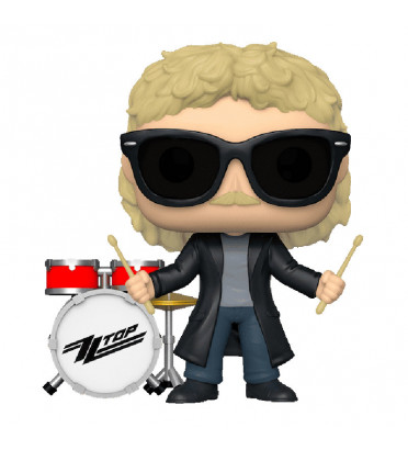 FRANCK BEARD / ZZ TOP / FIGURINE FUNKO POP