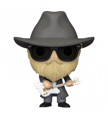 DUSTY HILL / ZZ TOP / FIGURINE FUNKO POP / FLOCKED