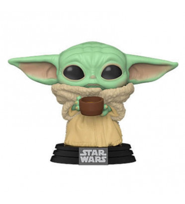 THE CHILD WITH CUP / STAR WARS THE MANDALORIAN / FIGURINE FUNKO POP