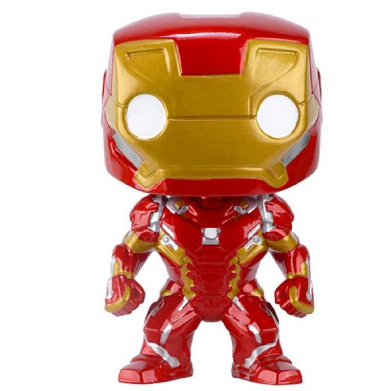 IRON MAN / CAPTAIN AMERICA CIVIL WAR / FIGURINE FUNKO POP
