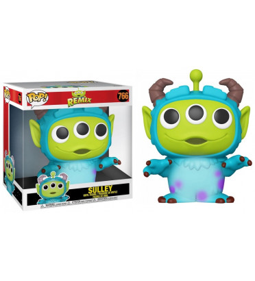 SULLEY SUPER OVERSIZED / ALIEN REMIX / FIGURINE FUNKO POP