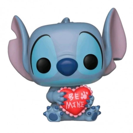 STITCH VALENTINE / LILO ET STITCH / FIGURINE FUNKO POP / EXCLUSIVE SPECIAL EDITION