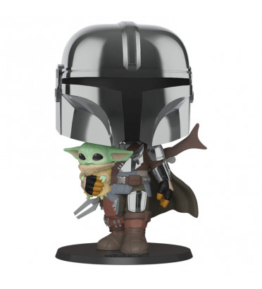 MANDALORIAN AVEC CHILD / STAR WARS / FIGURINE FUNKO POP