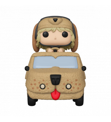 HARRY DUNNE IN MUTT CUTTS VAN / DUMB ET DUMBER / FIGURINE FUNKO POP