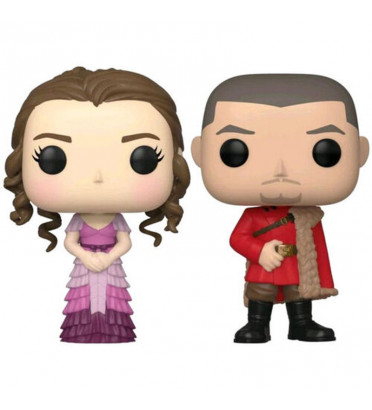 2 PACK HERMIONE YULE ET VIKTOR KRUM / HARRY POTTER / FIGURINE FUNKO POP / EXCLUSIVE SPECIAL EDITION