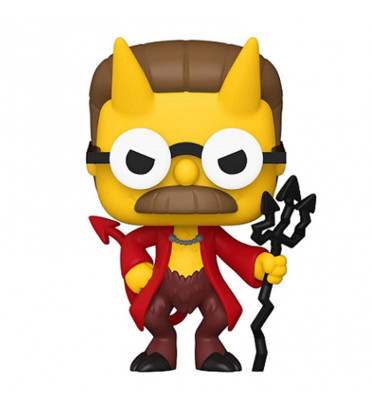 DEVIL FLANDERS / LES SIMPSONS TREEHOUSE OF HORROR / FIGURINE FUNKO POP