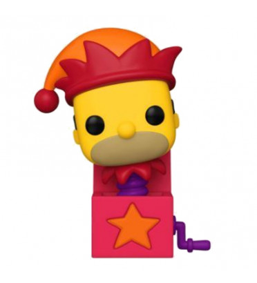 JACK IN THE BOX HOMER / LES SIMPSONS TREEHOUSE OF HORROR / FIGURINE FUNKO POP