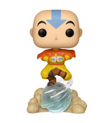 AANG ON AIRSCOOTER / AVATAR NICKOLODEON / FIGURINE FUNKO POP / EXCLUSIVE SPECIAL EDITION