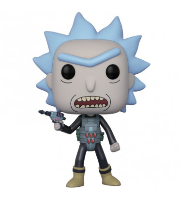 PRISON BREAK RICK / RICK ET MORTY / FIGURINE FUNKO POP / BOITE ABIMÉE