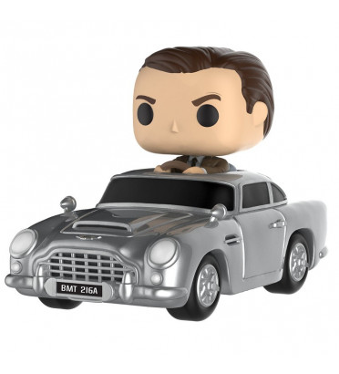 JAMES BOND AVEC ASTON MARTIN DB5 / JAMES BOND / FIGURINE FUNKO POP