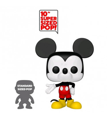 MICKEY MOUSE SUPER COLOR OVERSIZED / MICKEY MOUSE / FIGURINE FUNKO POP / EXCLUSIVE SPECIAL EDITION