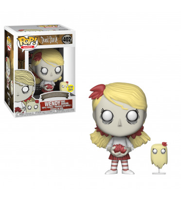 WENDY WITH ABIGAIL / DONT STARVE / FIGURINE FUNKO POP / GITD