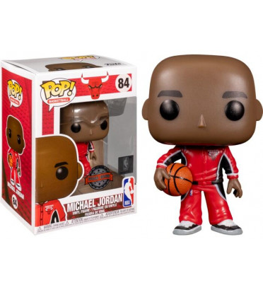 MICHAEL JORDAN REDWARM UPS / CHICAGO BULLS / FIGURINE FUNKO POP / EXCLUSIVE SPECIAL EDITION