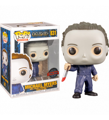 MICHAEL MYERS RESTYLED WITH POP PROTECTOR / HALLOWEEN / FIGURINE FUNKO POP / EXCLUSIVE SPECIAL EDITION