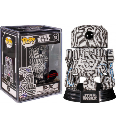 R2-D2 FUTURA / STAR WARS / FIGURINE FUNKO POP / EXCLUSIVE SPECIAL EDITION