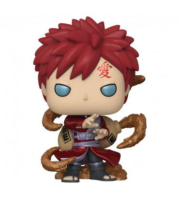 GAARA METTALIC / NARUTO / FIGURINE FUNKO POP / EXCLUSIVE SPECIAL EDITION