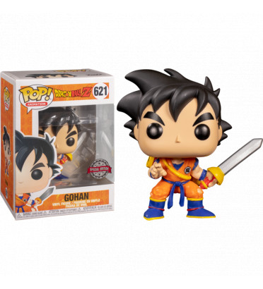 YOUNG GOHAN AVEC EPEE / DRAGON BALL / FIGURINE FUNKO POP / EXCLUSIVE SPECIAL EDTION