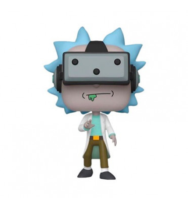 GAMER RICK / RICK ET MORTY / FIGURINE FUNKO POP / EXCLUSIVE SPECIAL EDITION