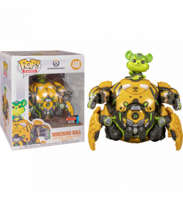 TOXIC WRECKING BALL OVERSIZED / OVERWATCH / FIGURINE FUNKO POP / EXCLUSIVE NYCC 2019