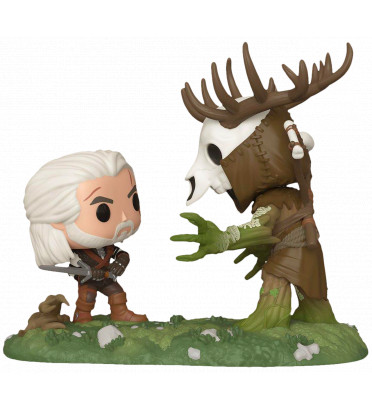 GERALT VS LESHEN / THE WITCHER MOVIE MOMENTS / FIGURINE FUNKO POP / EXCLUSIVE SPECIAL EDITION