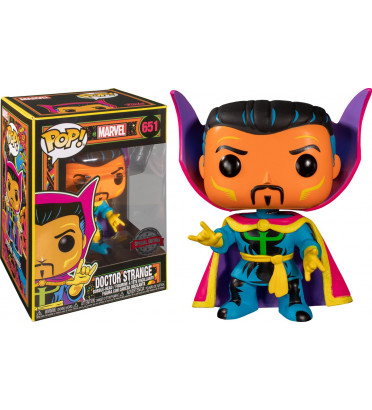 DOCTOR STRANGE / BLACK LIGHT / FIGURINE FUNKO POP / EXCLUSIVE SPECIAL EDITION