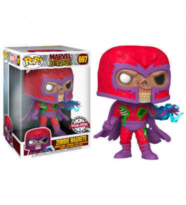 ZOMBIE MAGNETO SUPER OVERSIZED / MARVEL ZOMBIES / FIGURINE FUNKO POP / EXCLUSIVE SPECIAL EDITION