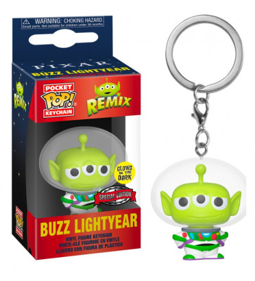BUZZ LIGHTYEAR / ALIEN REMIX / FUNKO POCKET POP / EXCLUSIVE SPECIAL EDITION / GITD