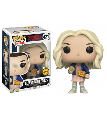 ELEVEN WITH EGGOS / STRANGER THINGS / FIGURINE FUNKO POP / CHASE