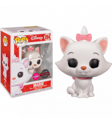 MARIE / LES ARISTOCHATS / FIGURINE FUNKO POP / EXCLUSIVE SPECIAL EDITION / FLOCKED