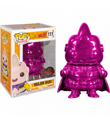 MAJIN BUU CHROME ROSE / DRAGON BALL Z / FIGURINE FUNKO POP / EXCLUSIVE SPECIAL EDITION