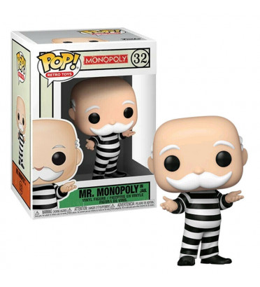MR MONOPOLY IN JAIL / MONOPOLY / FIGURINE FUNKO POP