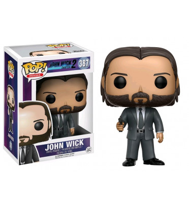 JOHN WICK / JOHN WICK CHAPTER 2 / FIGURINE FUNKO POP