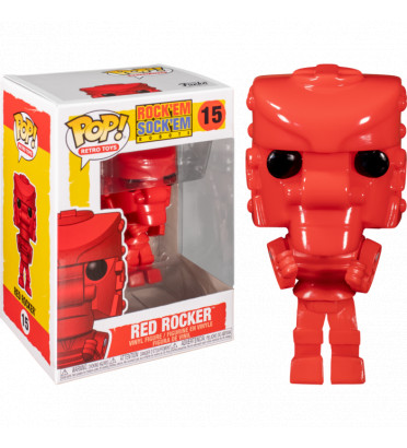 RED ROCKER / ROCK EM SOCK EM ROBOTS / FIGURINE FUNKO POP