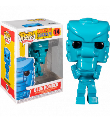 BLUE BOMBERS / ROCK EM SOCK EM ROBOTS / FIGURINE FUNKO POP