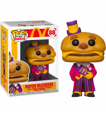 MAYOR MC CHEESE / MCDONALD / FIGURINE FUNKO POP