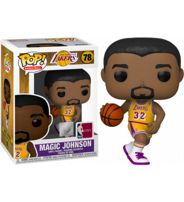 MAGIC JOHNSON / LOS ANGELES LAKERS / FIGURINE FUNKO POP