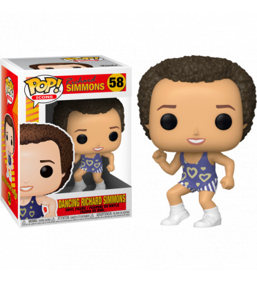 DANCING RICHARD SIMMONS / RICHARD SIMMONS / FIGURINE FUNKO POP