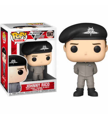 JOHNNY RICO IN JUMPSUIT / STARSHIP TROOPER / FIGURINE FUNKO POP