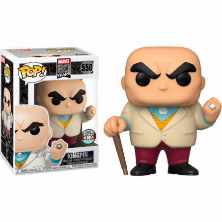 KINGPIN FIRST APPEARANCE / MARVEL 80 YEARS / FIGURINE FUNKO POP / SPECIALTY SERIES