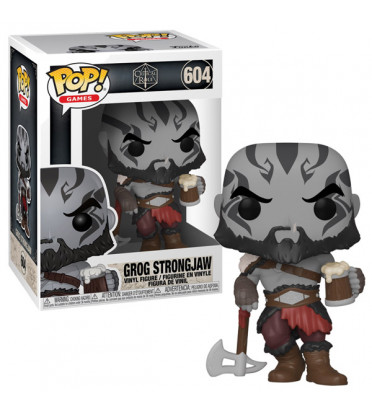 GROG STRONGLAW / CRITICAL ROLE VOX MACHINA / FIGURINE FUNKO POP