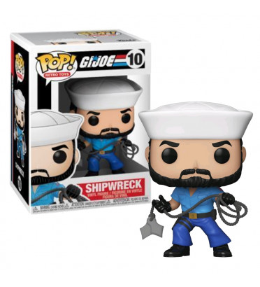 SHIPWRECK / GI JOE / FIGURINE FUNKO POP