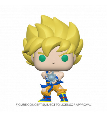 SS GOKU WITH KAMEHAMEHA WAVE / DRAGON BALL Z / FIGURINE FUNKO POP