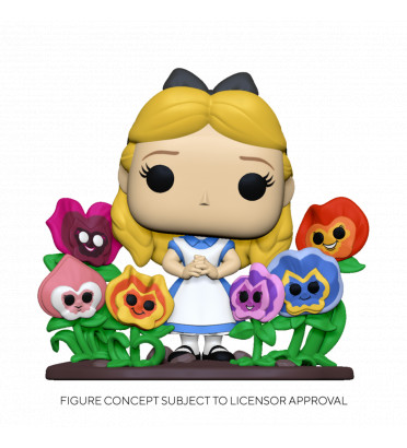 ALICE WITH FLOWERS / ALICE AU PAYS DES MERVEILLES / FIGURINE FUNKO POP