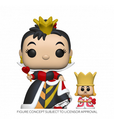 QUEEN WITH KING / ALICE AU PAYS DES MERVEILLES / FIGURINE FUNKO POP